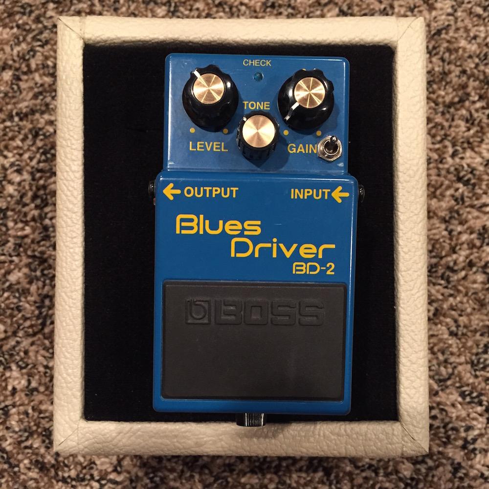Boss BD-2 Blues Driver (Keeley Electronics Phat Mod)