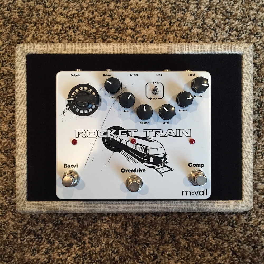 Movall Audio Rocket Train Boost/Overdrive/Compressor