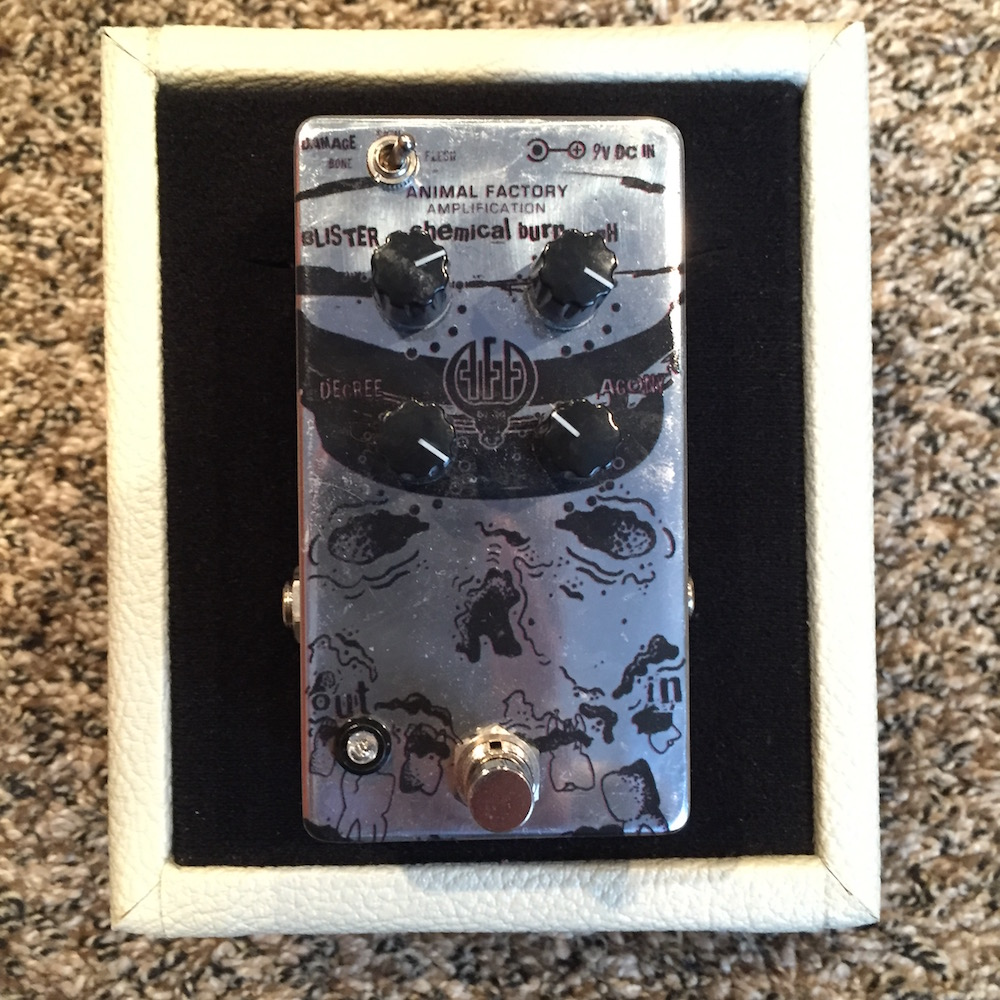 Animal Factory Amplification Chemical Burn Fuzz