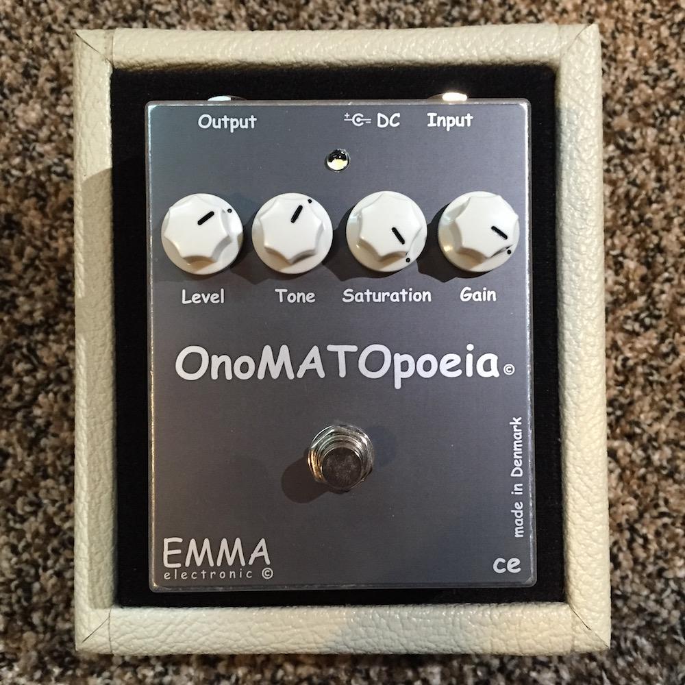 Emma Electronic OMP-1 OnoMATOpoeia Boost Overdrive