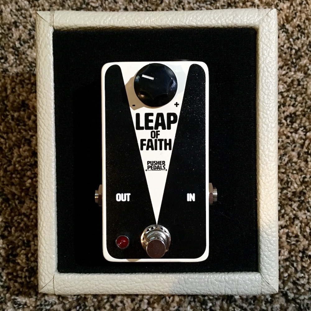 Pusher Pedals Leap of Faith Boost