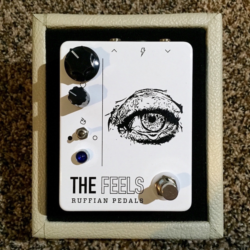 Ruffian Pedals The Feels Overdrive Distortion