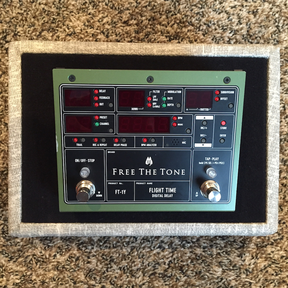 Free The Tone FT-1Y Flight Time Delay