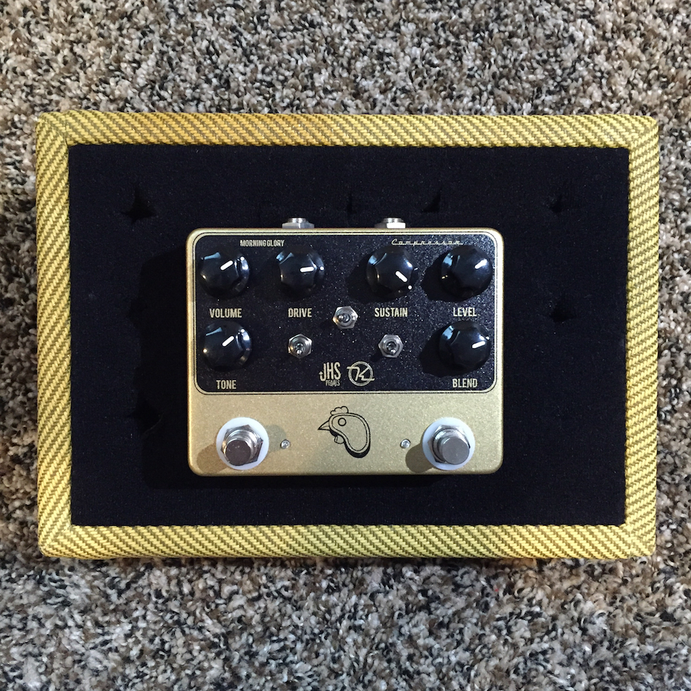 JHS Pedals / Keeley Electronics Steak and Eggs Overdrive Compressor