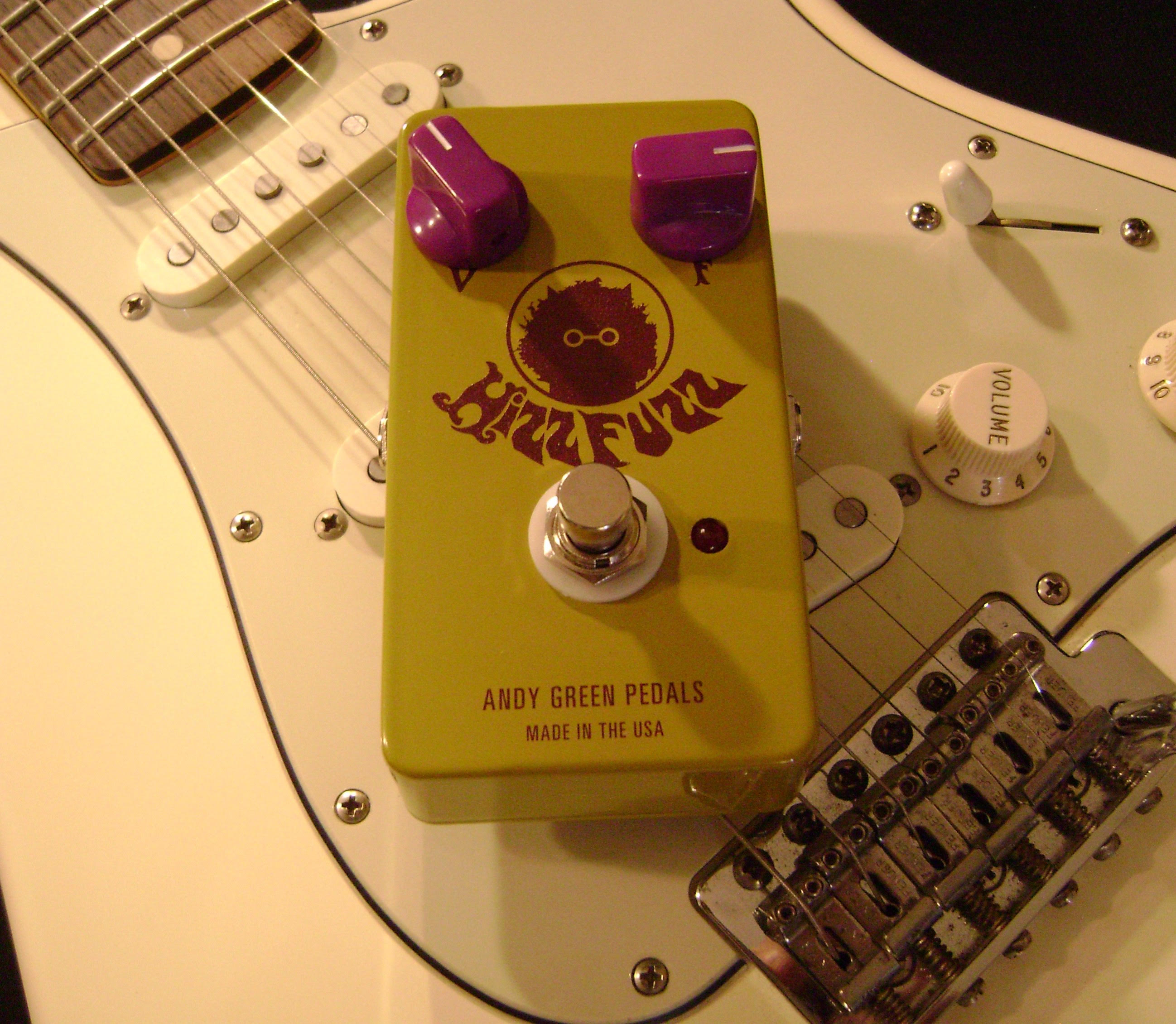 Weekly Interview 4/13/16: Andy Green of Andy Green Pedals
