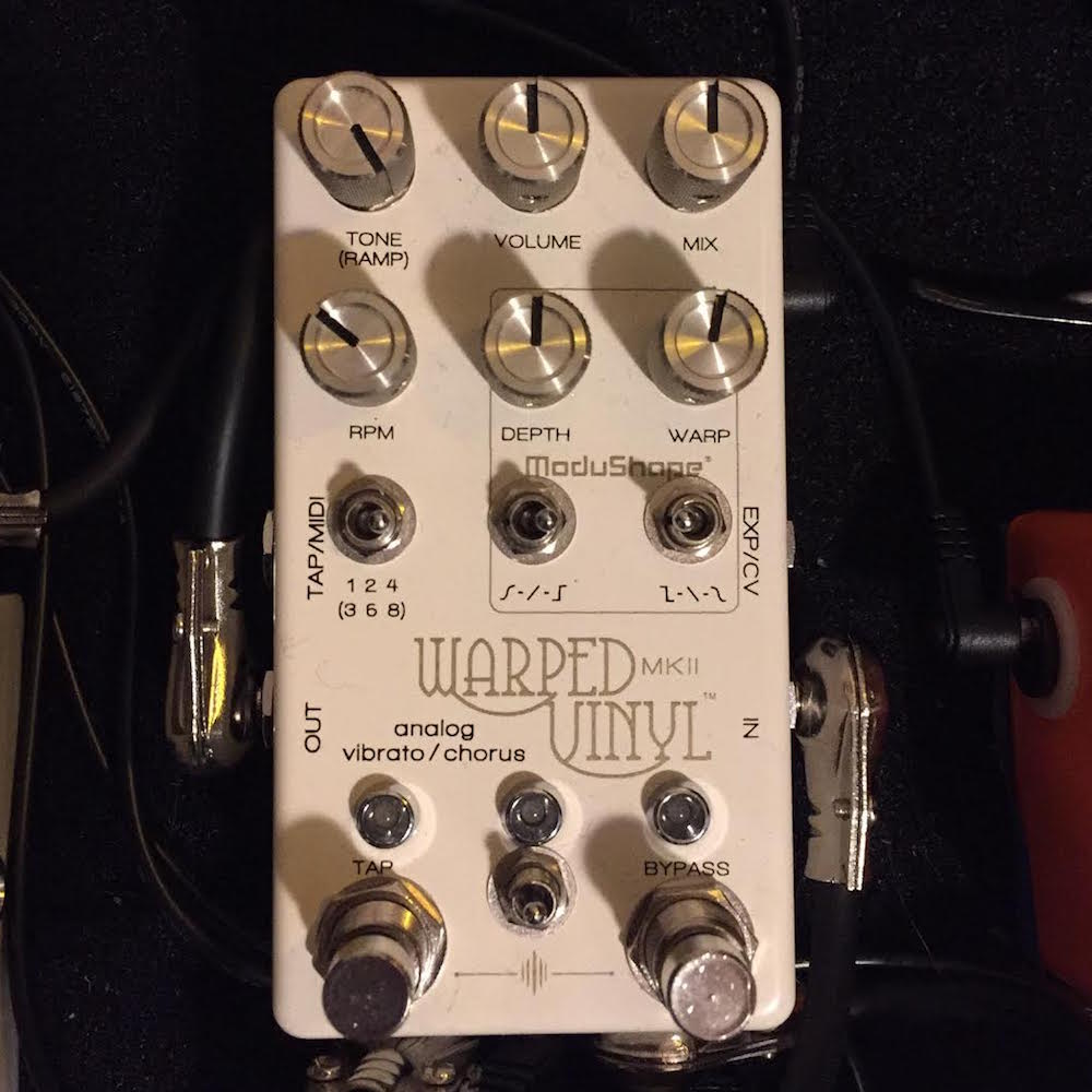 Guest Reviewer Fridays: Chase Bliss Audio Warped Vinyl MkII