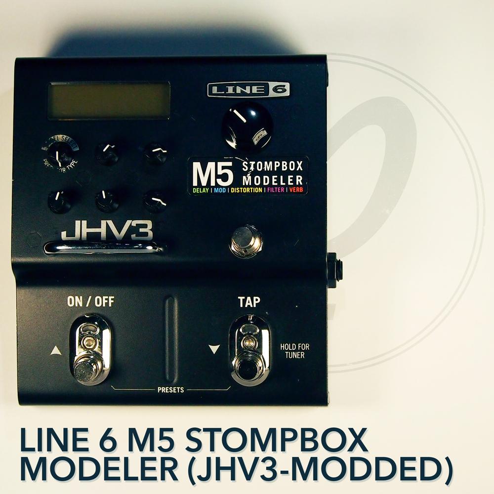 Line 6 M5 Stompbox Modeler (JHV3-modded)
