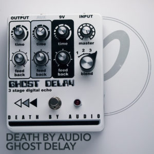 death by audio ghost delay pedal of the day. Black Bedroom Furniture Sets. Home Design Ideas