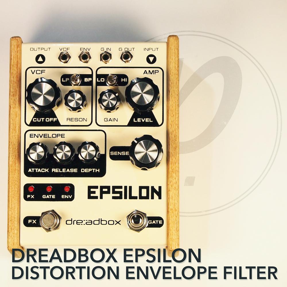 Dreadbox Epsilon Distortion Envelope Filter