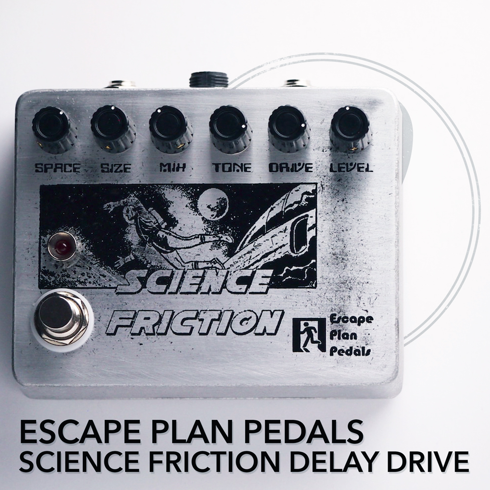 Escape Plan Pedals Science Friction Interplanetary Delay Drive