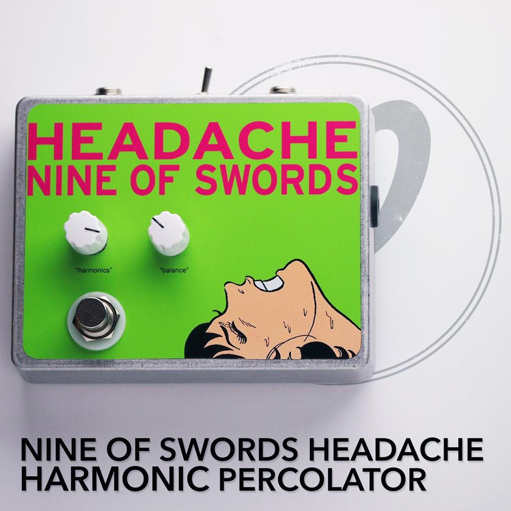 Nine of Swords Headache Harmonic Percolator
