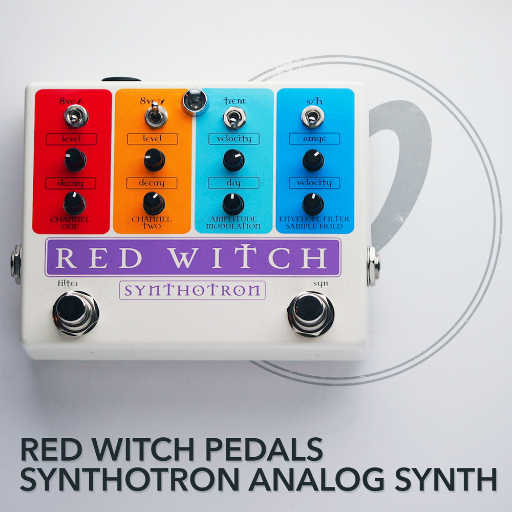 Red Witch Pedals Synthotron Analog Synth