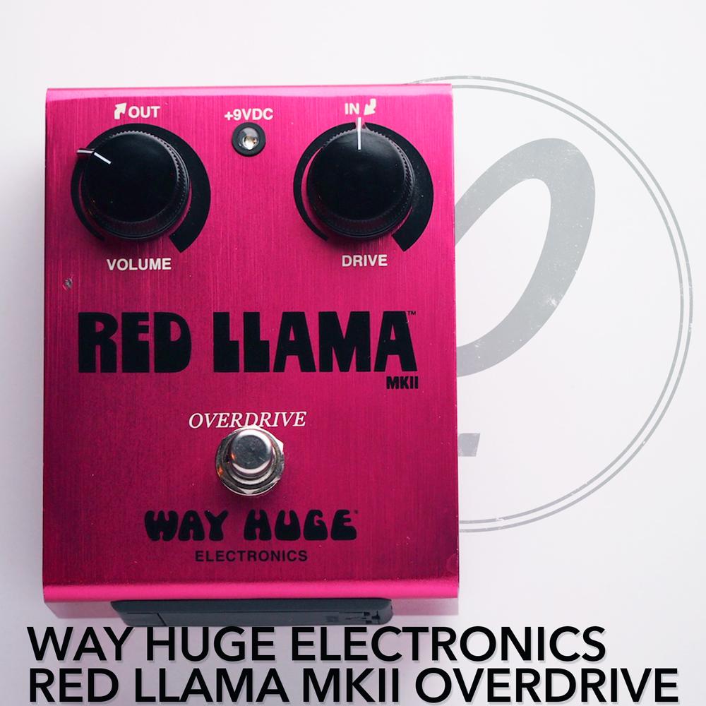 Way Huge Electronics Red Llama™ MkII Overdrive
