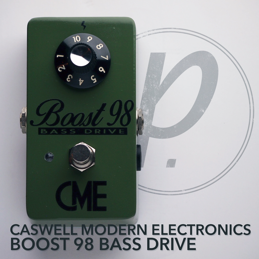 Caswell Modern Electronics Boost 98 Bass Drive