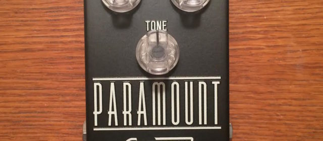 Guest Reviewer Fridays: Emerson Custom Paramount Overdrive