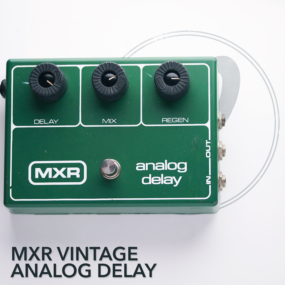 Vintage Mxr Analog Delay 64