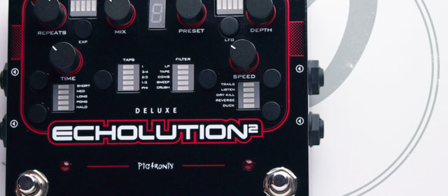 Pigtronix Echolution 2 Deluxe Delay