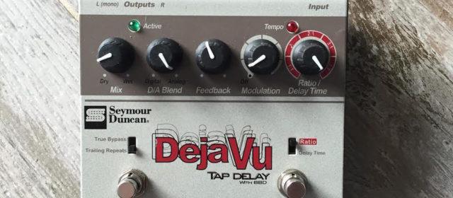 Guest Reviewer Fridays: Seymour Duncan Deja Vu Tap Delay