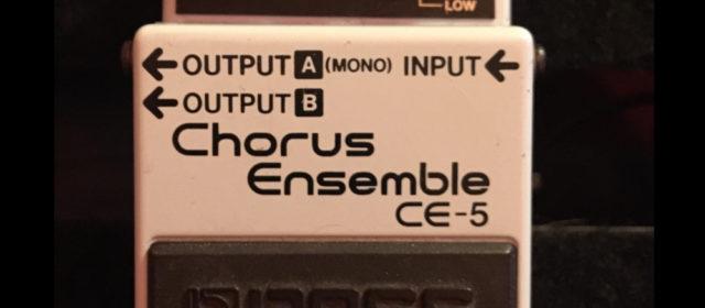 Guest Reviewer Fridays: Boss CE-5 Chorus Ensemble