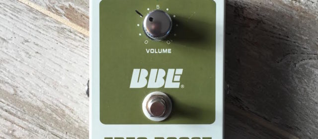 Guest Reviewer Fridays: BBE Freq Boost