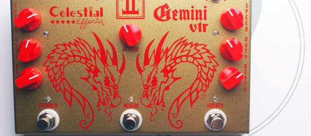 Celestial Effects Gemini VTR Vibrato Tremolo Reverb