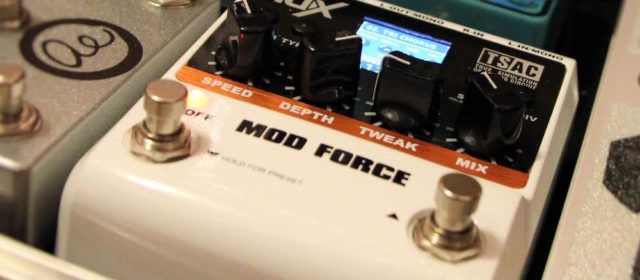 Guest Reviewer Fridays: NuX Mod Force Multi-Modulation