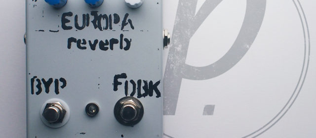 Small Grey Pedals Europa Reverb