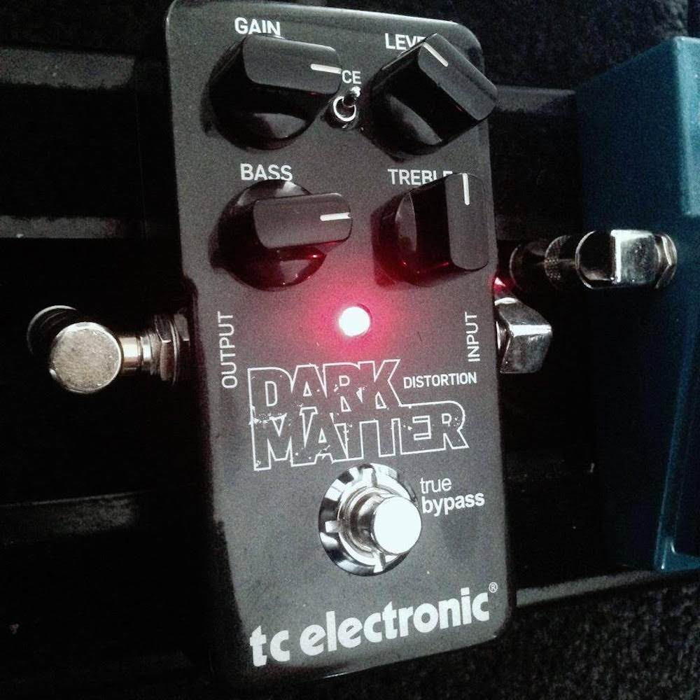 guest reviewer fridays tc electronic dark matter distortion pedal of the day. Black Bedroom Furniture Sets. Home Design Ideas