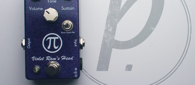 Vick Audio Violet Ram's Head Fuzz