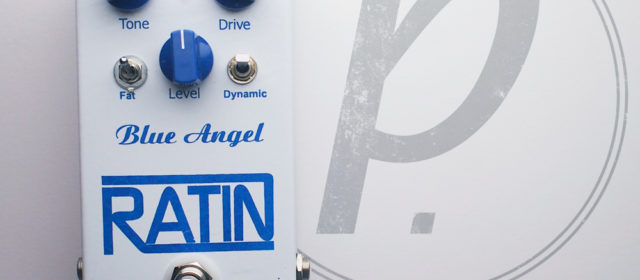 Ratin Pedals Blue Angel Overdrive