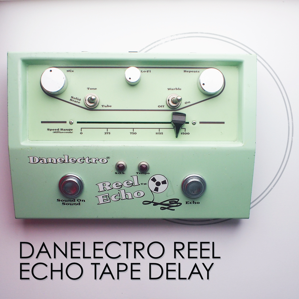 danelectro reel echo tape delay pedal of the day. Black Bedroom Furniture Sets. Home Design Ideas