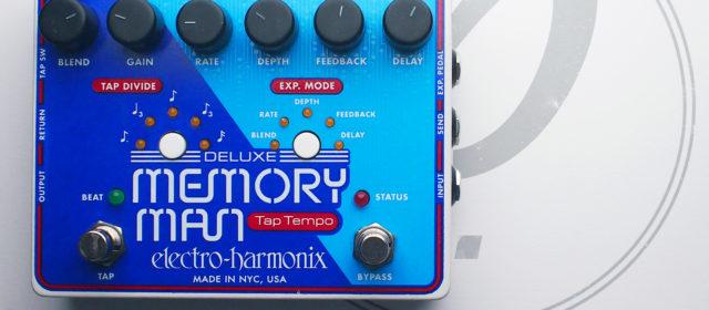 Electro-Harmonix Deluxe Memory Man TT-1100 Analog Delay