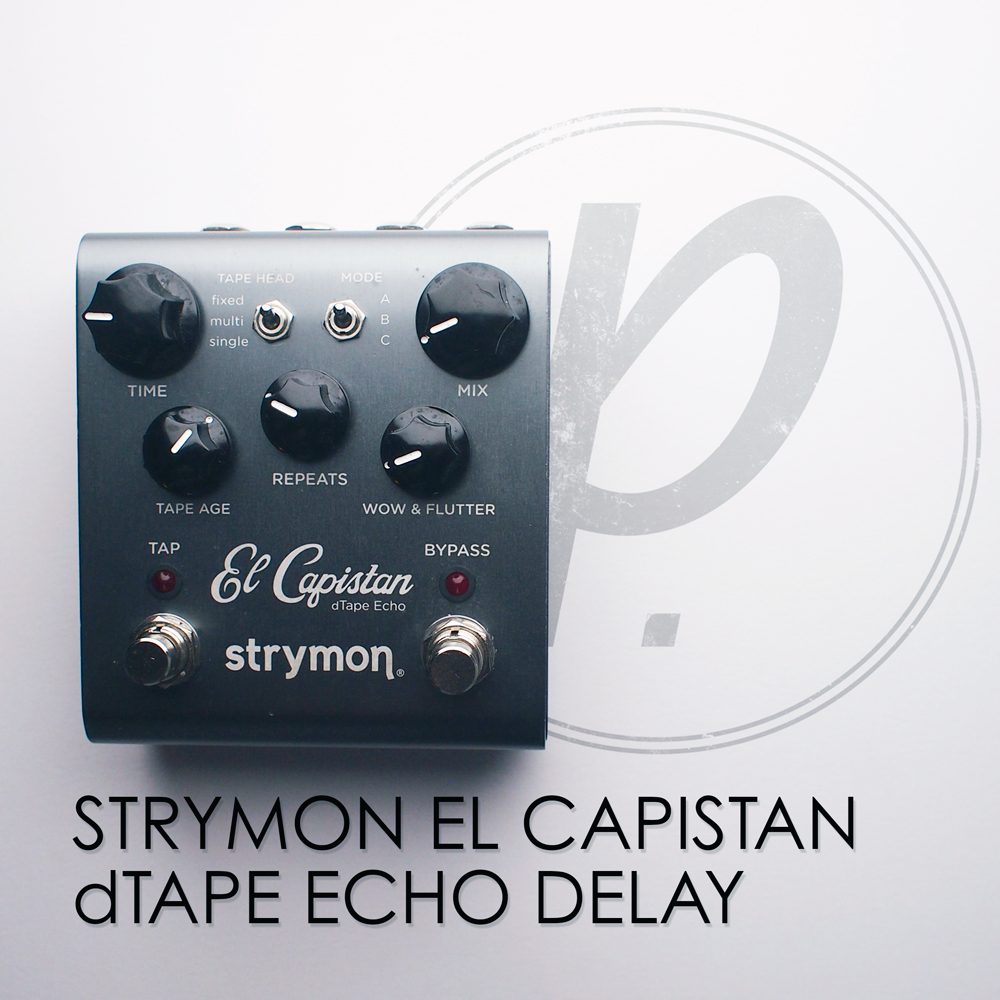 strymon el capistan dtape echo delay pedal of the day. Black Bedroom Furniture Sets. Home Design Ideas