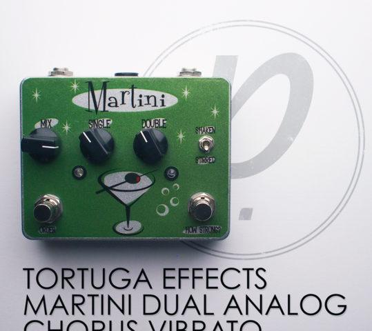 Tortuga Effects Martini™ Dual Analog Chorus Vibrato