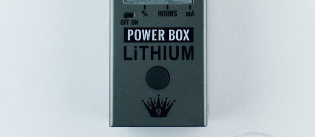 Big Joe Stomp Box Co. PB-107 Power Box Lithium