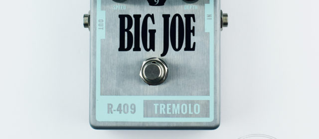 Big Joe Stomp Box Co. R-409 Tremolo