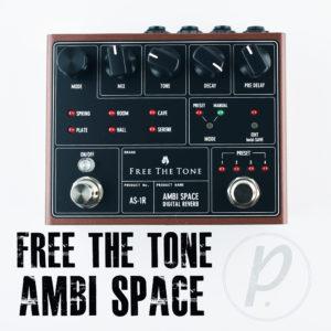 Free The Tone Ambi Space AS-1R Digital Reverb