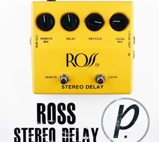 Ross Stereo Analog Delay