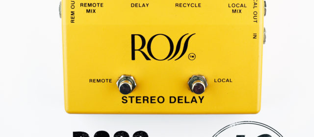 Ross Stereo Analog Delay