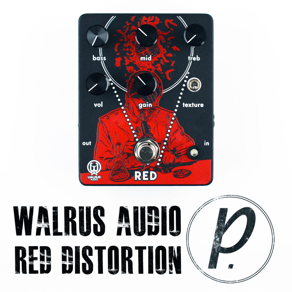 walrus audio red high gain distortion pedal of the day. Black Bedroom Furniture Sets. Home Design Ideas