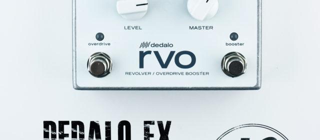 Dedalo FX Revolver RVO-3 Overdrive Booster