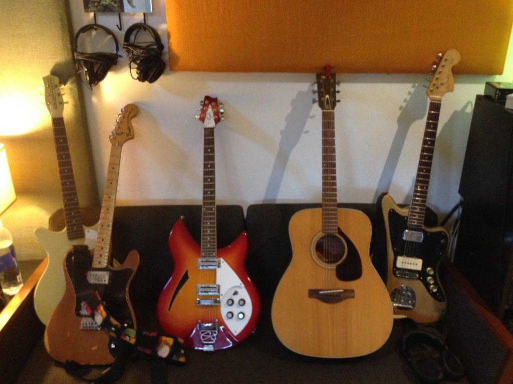 Scott Kannberg Guitars - Sprial Stairs - Pavement - Preston School of Industry