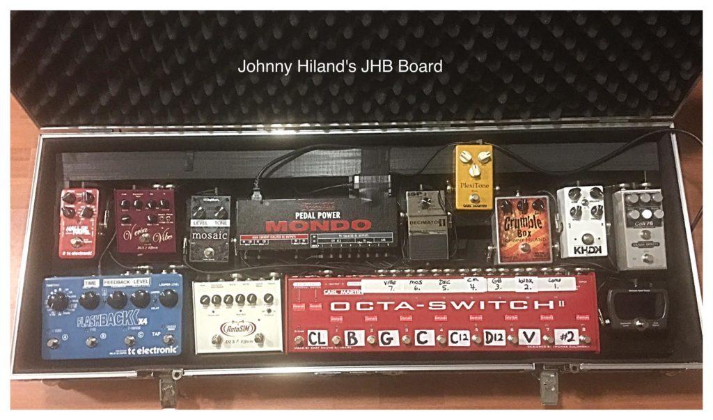Johnny Hiland - JHB Pedalboard