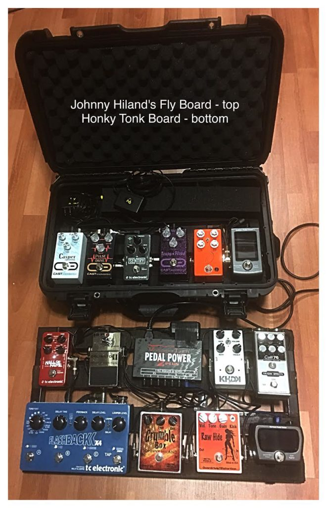 Johnny Hiland - Pedalboards 1