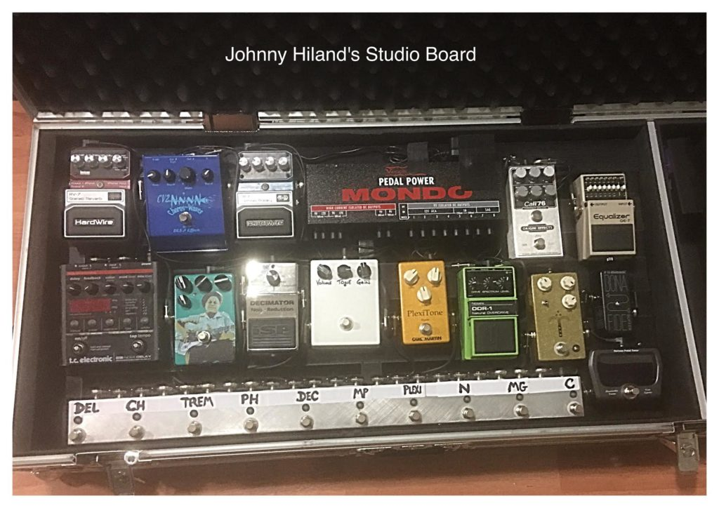 Johnny Hiland - Studio Pedalboard