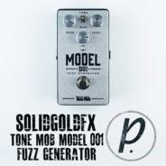 SolidGoldFX Tone Mob Model 001 Fuzz Generator – Aluminum Edition