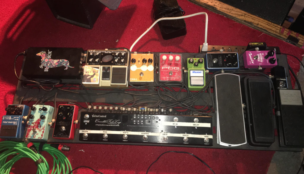 Chris Houser - Pedalboard - The Werks
