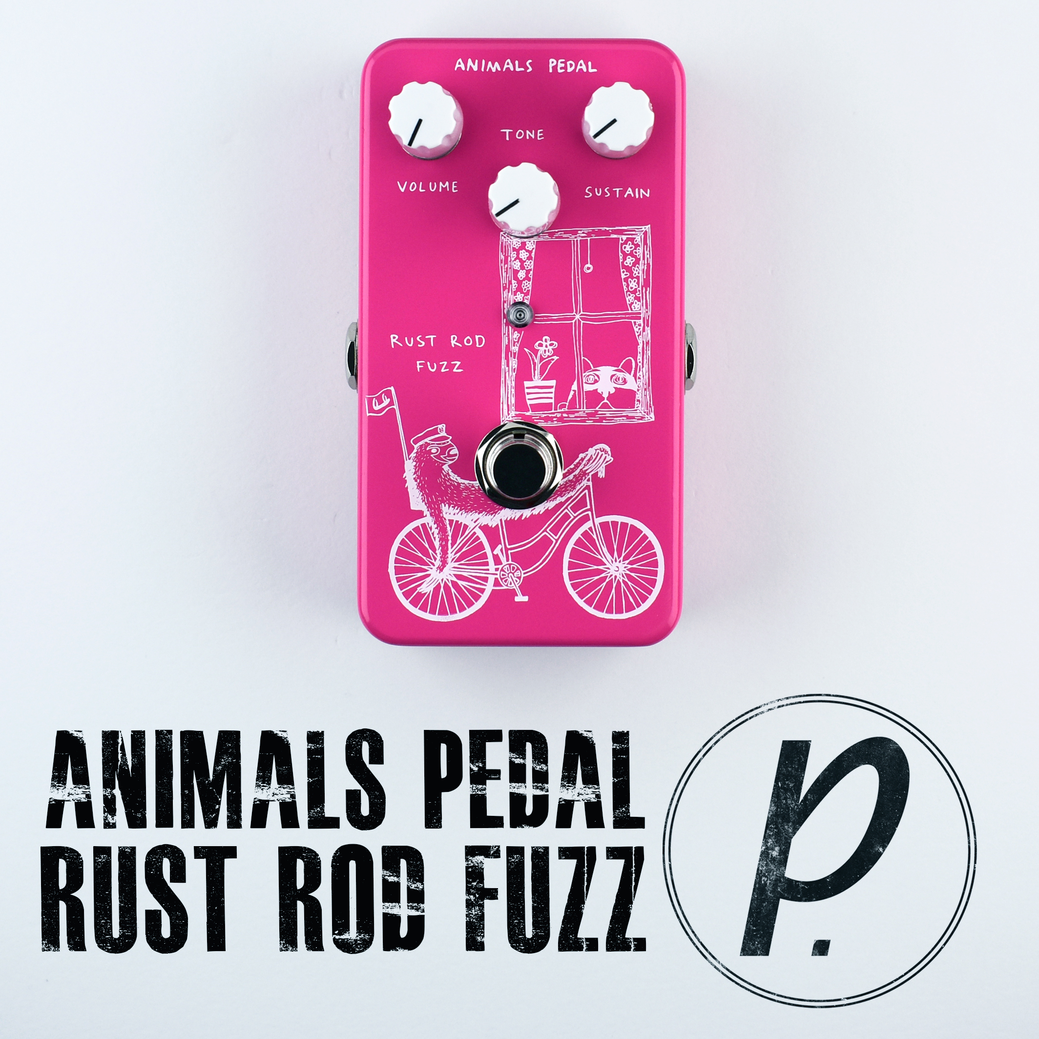 Animals Pedal Rust Rod Fuzz Pedal Pedal Of The Day