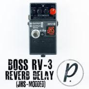 Boss RV-3 Digital Reverb/Delay (JHS Dual Mode Mod)