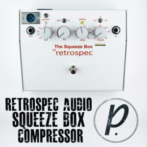Retrospec Audio Squeeze Box Compressor Limiter